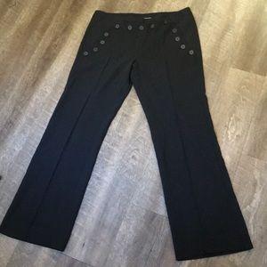 High waisted sailor pants